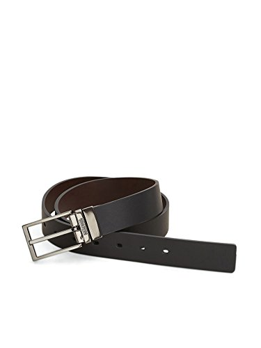 Kenneth Cole REACTION Men's Enraved Logo Belt