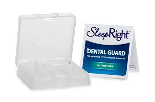 SleepRight Secure-Comfort Dental Guard – Mouth Guard To Prevent Teeth Grinding – SleepRight No Boil Dental Guard by SleepRight (Image #1)