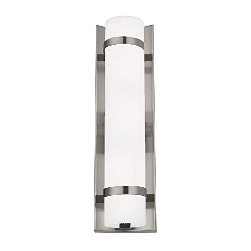Cheap Duo Satin Nickel Bathroom Light – Vertical Mounting Only