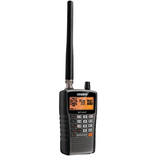 UNIDEN BC125AT Bearcat Handheld Scanner - ONE YEAR Warranty