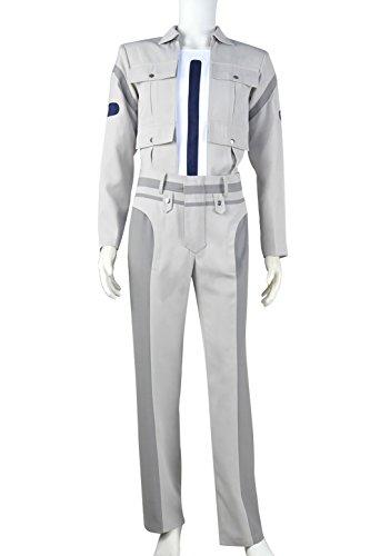 XOMO Star Trek 2 The Wrath of Khan Cosplay Leonard McCoy Costume Male (Leonard Mccoy Costume)