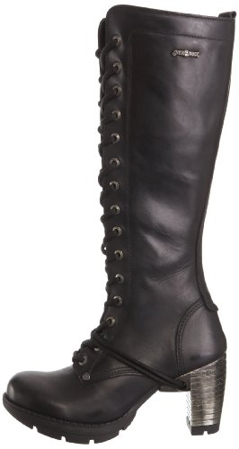 Itali Stivali s1 M Black New Rock tr005 Donna nqBzTwgY