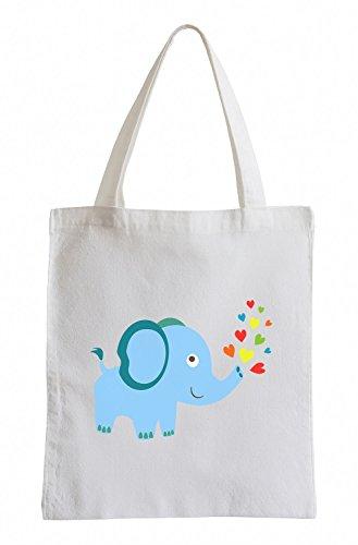 Raxxpurl Dolce Elephant Fun sacchetto di iuta