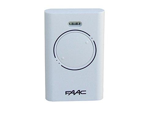 33 opinioni per FAAC XT2 868 SLH Master Radiocomando bicanale, 868 MHz, Bianco