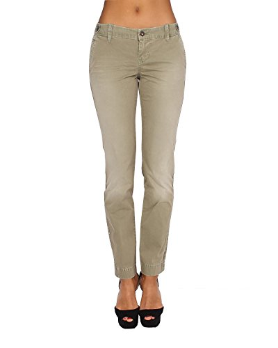 Pepe Jeans - Women's Pants ELVA 645 - Regular - Tapered - Non Stretch - Brown, W31 / L32 (Pepe Jeans Brillen)