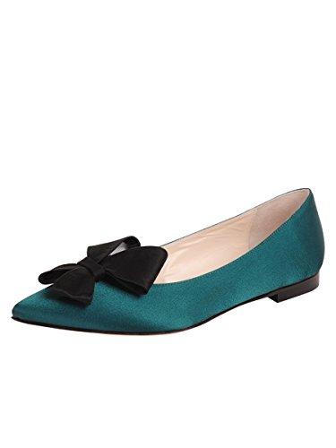 Zapatos De Mantequilla Para Mujer Carly Flat Emerald