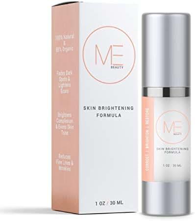 ME Beauty - Skin Whitening Scar Cream With Vitamin C and Kojic Acid, Anti Aging Face Cream, Dark Spot Corrector, Melasma Treatment, Fade Cream, Removes Hyperpigmentation, Reduces Melasma (1 Ounce)