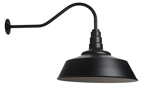 Large Black Outdoor Lighting