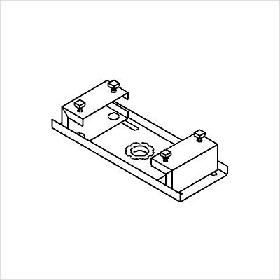 Peerless-furniture Single Monitr 712 I-beam Clamp (adj 7-12 In) (Discontinued by Manufacturer)