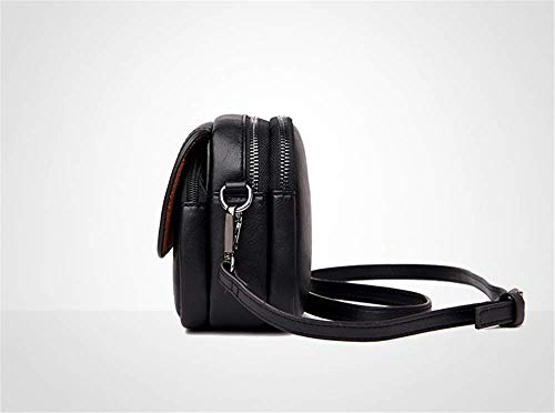 Da Tracolla A Black Colore Nera Moda In Borsa Retro Cavalletto Puro Semplice Borse Donna Europeo Monospalla Affascinante Stile Tendenza Obliqua Quadrata qtdT5nx