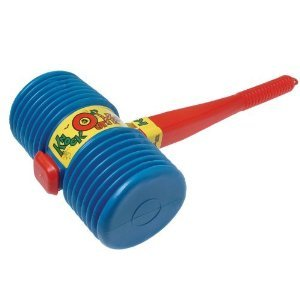 Toy / Game Us Toy Jumbo Giant Squeaky Hammer (Colors May Vary) - Great Prop For Any Clown Or -