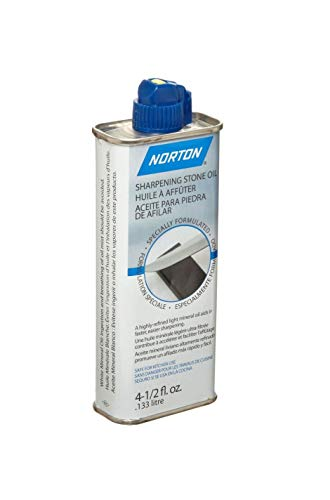 Norton Abrasives 07660787940 4-1/2 oz. Sharpening Stone Oil (Sharpening A Knife With A Oil Stone)