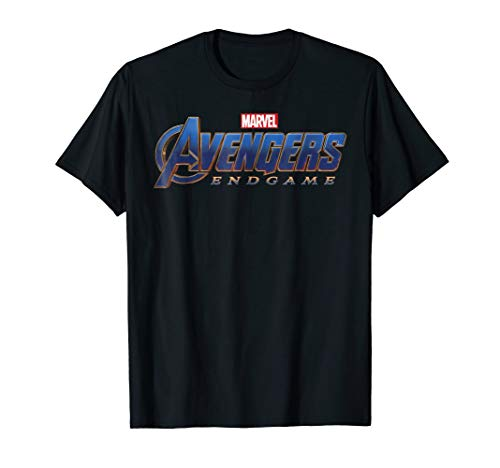Silk Cloth Game - Marvel Avengers Endgame Movie Logo Graphic T-Shirt