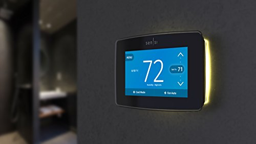 Emerson Sensi Touch Wi-Fi Thermostat with Touchscreen Color Display for Smart Home, ST75, Works with Alexa by Emerson Thermostats (Image #8)