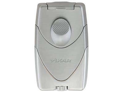 Xikar Enigma II Cigar Lighters (Silver)