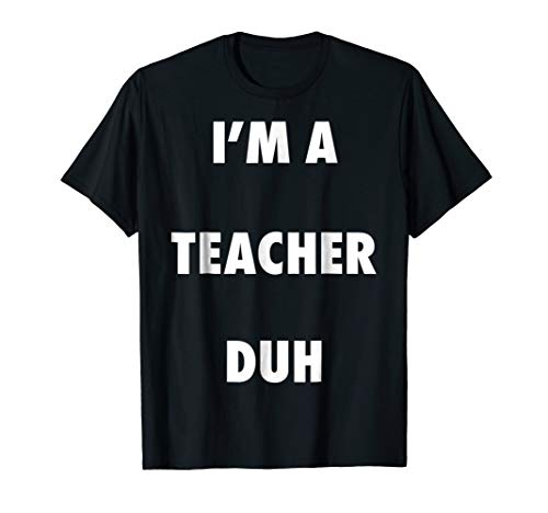 Easy Halloween Teacher Costume Shirt for Men Women Kids
