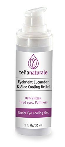 Eye Cool & Bright Gel with Eyebright, Cucumber and Aloe / Cooling Relief & Refreshment, 1 Oz
