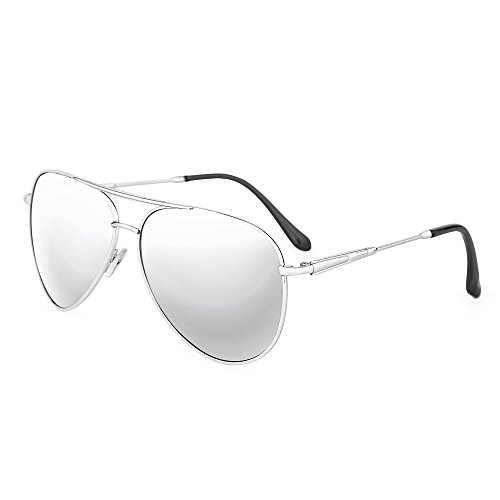 TIME100-la série de Smileyes Lunettes de soleil femme/homme rétro monture de lunette à un polygone et multicolore verre de lunette à la mode changement graduel 2017 TSGL058 Blanc