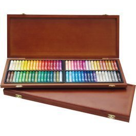 (Mungyo Gallery Oil Pastels Wood Box Set of 72 Standard - Assorted Colors)