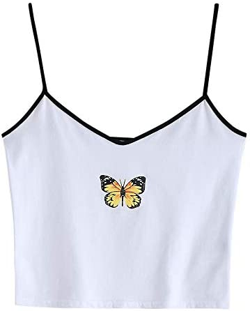 ZAFUL Butterfly Graphic Sleeveless Camisole product image