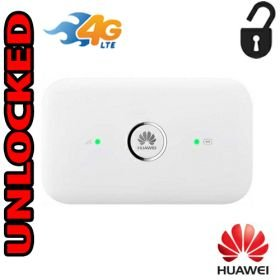 Router Hotspot 4G LTE Unlocked GSM (LTE USA  Cricket Latin & Caribbean) Huawei E5573s-508 up to 10 wifi users CAT4 by Huawei