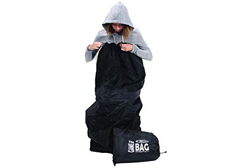 Original Game Bag - Wearable Waterproof and Windproof Vinyl Blanket for Stadium/Sports/Picnic/Outdoors - Machine Washable