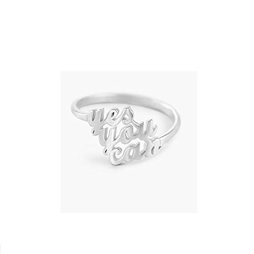(PEIMKO Name Ring Personalized 925 Sterling Silver Custom Made with 3 Names-Gift for Mother Promise Ring for Her (925 Sterling Silver))