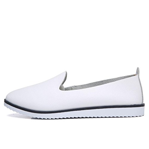 Neartime Promotion❤️Women Shoes, 2018 Fashion Flats Leather Shoes Shallow Slip On Leisure Lazy Comfortable Sandals by Neartime Sandals (Image #6)