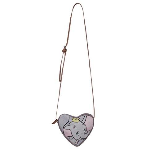 CODELLO Tasche in Herzform mit Dumbo Motiv Light Grey 1Dc3h3t