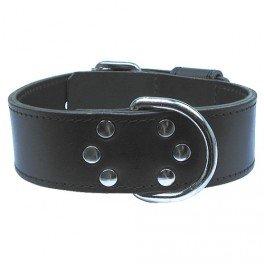 Chadog Black Leather Necklace 60 cm