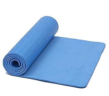 NAXIAOTIAO Engrosamiento y alargamiento Esteras de Yoga ...