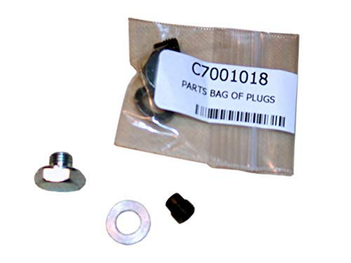 Riello C7001018 Oil Burner Hydraulic Jack Plug + Short Bolt + Washer Kit ()