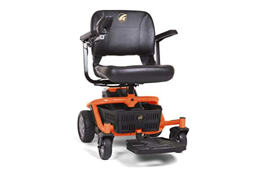 LiteRider Envy Mobility Power Wheelchair - Disassembles for