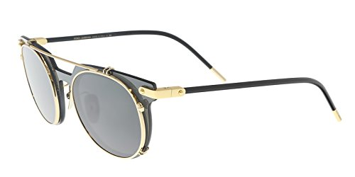 Dolce & Gabbana Men's 0DG2196 Grey/Gold/Grey One Size