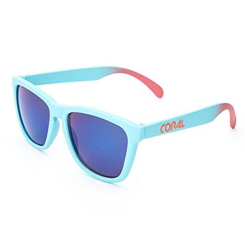 Sunglasses Femme Coral De Soleil Bleu Lunette gYqFdT