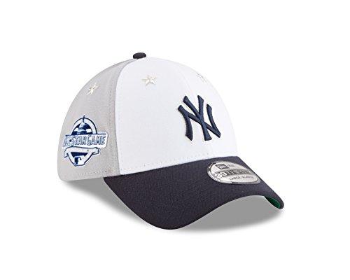 New Era New York Yankees 2018 MLB All-Star Game 39THIRTY Flex Hat - White, Navy