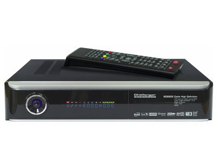 HE @ D SD 8500 HD Digital Cable Receiver, HDMI, 1 x black 2x CI