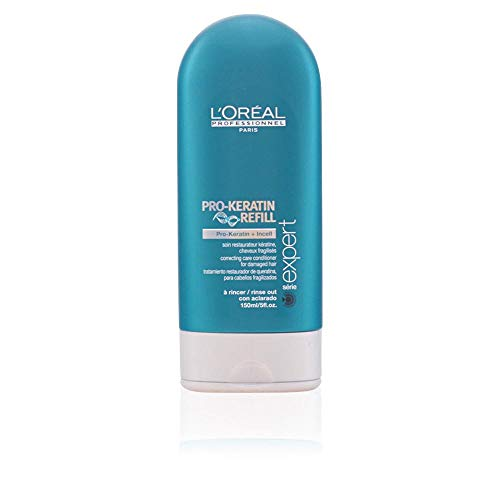 (L'Oreal Serie Expert Pro-Keratin Refill Correcting Care Conditioner for Unisex, 5 Ounce)