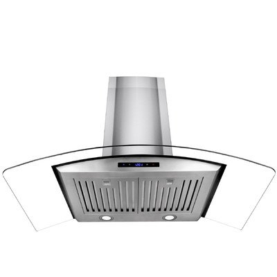 "35.4"" 400 CFM Convertible Wall Mounted Range Hood"