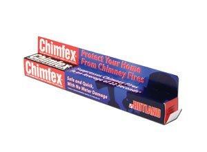 Chimfex Woodburning Stove & Fireplace Chimney Fire Suppressant ()