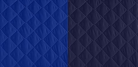 Lucena Cantos - Cubre Sofá Reversible, (Azul/Marino, Chaise-Longue 200 cm)