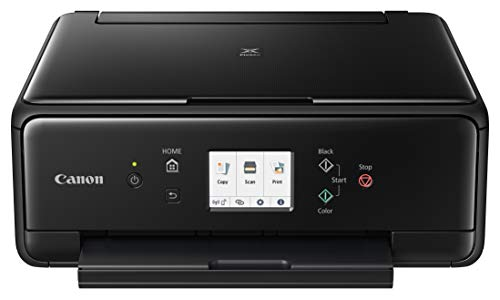 Canon 2986C002 PIXMA TS6220 Wireless All in One Photo Printer with Copier, Scanner and Mobile Printing, Black by Canon (Image #1)