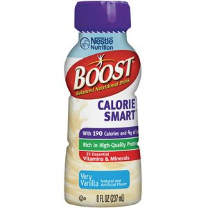 Boost Calorie Smart 8 oz., Very Vanilla [Case of 24] by Nestle Healthcare Nutrition