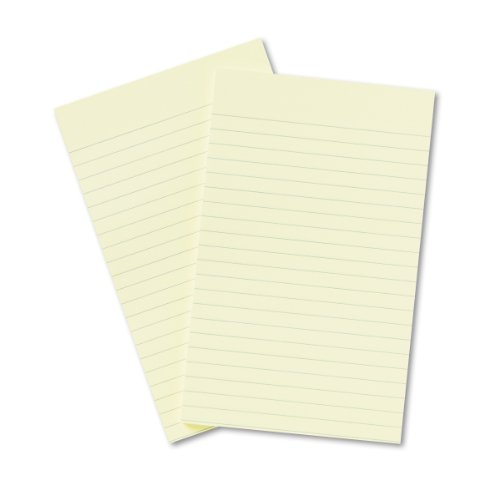 Post-it Notes, Original Pad, 5 Inches x 8 Inches, Lined, Canary Yellow, 50 Sheets per Pad, Two Pads per Pack Consumer Div Fusion