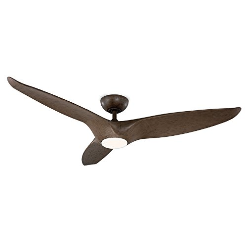 Modern Forms FR-W1813-60L-35-DW Morpheus III Ceiling Fan, Dark Walnut ()