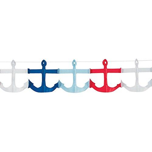 Nautical-Anchor-Garland-9-Feet-X-4-34-Paper
