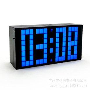weian creativo personalizado de sobremesa Reloj de großhandels Relojes Fashion Tecnología fluorescente leuchtenden Reloj, blue: Amazon.es: Hogar