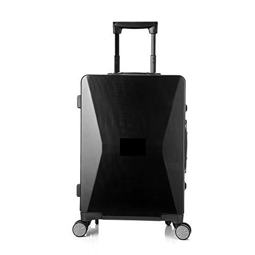 Aiyawear Spinner Suitcase Smart Fingerprint Unlocking Trolley Case Solar Luggage Mobile Phone Charging High-end Business…