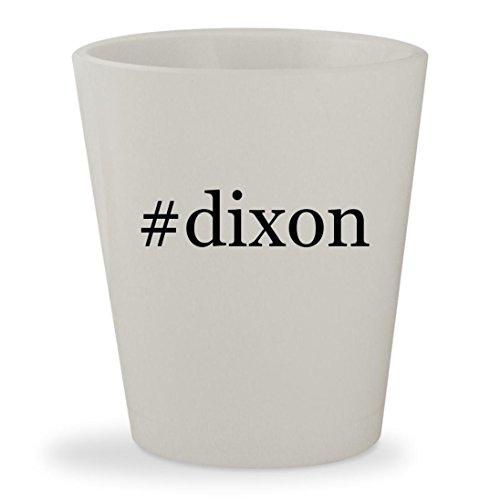 #dixon - White Hashtag Ceramic 1.5oz Shot - Glasses Lisa With Ann