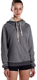 product image for US Blanks US897 Men's Unisex French Terry Snorkel Pullover Sweatshirt Tri Grey 2XL